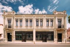 Grodno, Belarus. House Of Merchant Kreutzer On Sotsialisticheska Royalty Free Stock Photography
