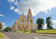 Grodno Church of the Finding of the Holy Cross formerly Bernard Royalty Free Stock Photography