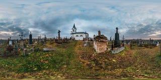 GRODNO, WIT-RUSLAND - NOVEMBER, 2018: volledig naadloos panorama 360 graden hoek in equirectangular sferische kubusprojectie 360 royalty-vrije stock fotografie