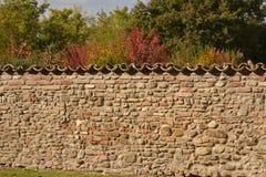 Grodowa ściana Zdjęcia Stock