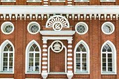 Grodowa ściana z cegieł zdjęcie royalty free
