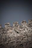 grodowa średniowieczna ściana Zdjęcie Royalty Free