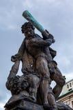grodowa bramy Prague rzeźba Fotografia Stock