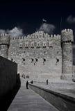 Grodowa ściana zdjęcia royalty free