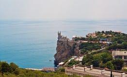 grodowa Crimea pobliski gniazdeczka s dymówka Yalta Zdjęcia Stock