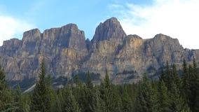 Grodowa góra w Banff parku narodowym, Kanada Fotografia Stock