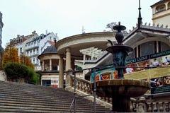 Grodowa kolumnada, Karlovy Zmienia, republika czech zdjęcia royalty free
