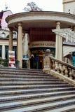 Grodowa kolumnada, Karlovy Zmienia, republika czech obraz stock
