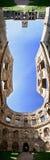 Grodowa Krzyztopor panorama Fotografia Stock