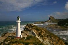 Grodowa punkt latarnia morska 2 NZ Fotografia Stock