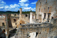 grodowa stara ruina Zdjęcie Royalty Free
