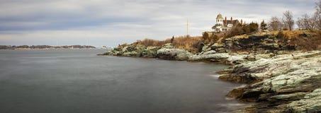 Grodowa wzgórze austeria, Newport Rhode - wyspa zdjęcia royalty free
