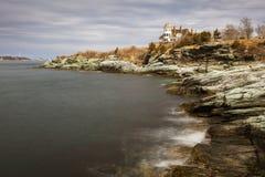 Grodowa wzgórze austeria, Newport Rhode - wyspa zdjęcie stock