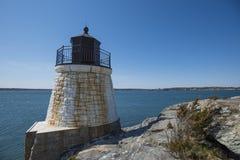Grodowa wzgórze latarnia morska Obrazy Stock