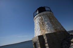Grodowa wzgórze latarnia morska Fotografia Stock
