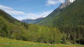 Grodowa zatoczki dolina fotografia stock