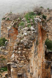 grodowe Israel montfort ruiny fotografia royalty free