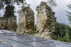 grodowe średniowieczne ruiny Zdjęcie Royalty Free