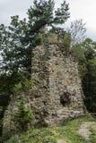 grodowe średniowieczne ruiny Obraz Stock