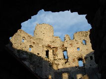 grodowe ruiny Fotografia Stock