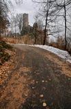 grodowe ruiny Zdjęcie Royalty Free
