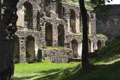 grodowe stare ruiny Obrazy Royalty Free