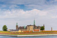 grodowego Denmark przysiółka Helsingor kronborg legendarny miejsce obraz stock