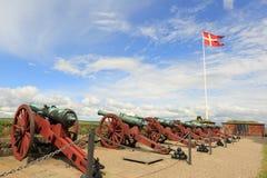 grodowego Denmark przysiółka Helsingor kronborg legendarny miejsce Obrazy Royalty Free