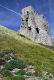 Grodowego fortu antyczne ruiny Zdjęcie Stock