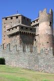 grodowi aosta fenis Italy Obraz Royalty Free