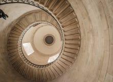 Grodowi Ślimakowaci schodki Obraz Stock