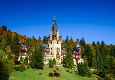 grodowi peles Romania Obraz Royalty Free