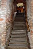 grodowi schody. Zdjęcia Royalty Free