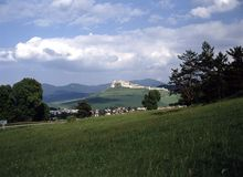 grodowi Slovakia spisy Fotografia Royalty Free