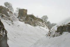 grodowy śnieżny Zdjęcia Royalty Free