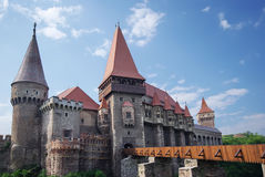 grodowy średniowieczny Romania Zdjęcie Royalty Free