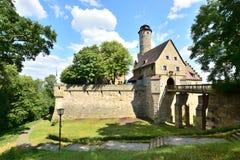 Grodowy Altenburg w Bamberg, Niemcy obrazy stock