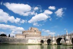 grodowy Angelo święty Rome obraz stock