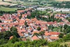 Grodowy basztowy Mühlenburg Zdjęcie Royalty Free