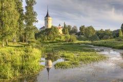 Grodowy Bip Pavlovsk saint petersburg Rosja Obraz Royalty Free