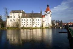 Grodowy Blatnà ¡, republika czech, Europa Obraz Royalty Free