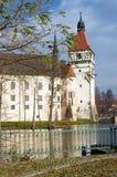 Grodowy Blatnà ¡, republika czech, Europa Obraz Stock
