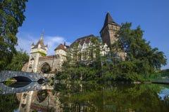 grodowy Budapest vajdahunyad zdjęcie royalty free