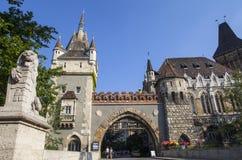 grodowy Budapest vajdahunyad obrazy royalty free