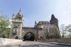 grodowy Budapest vajdahunyad Hungary zdjęcie stock