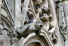 grodowy Carcassonne unesco France katedra Obrazy Stock