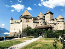 grodowy chillon fotografia royalty free