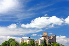 grodowy chmurny niebo Fotografia Royalty Free