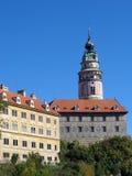 grodowy czeski krumlov miasteczka unesco Zdjęcie Stock