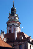 grodowy czeski krumlov miasteczka unesco Obraz Royalty Free